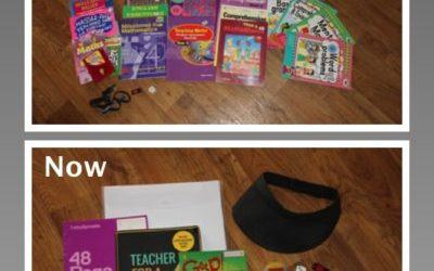 Were you as bad as me when I first started Supply Teaching?  What my Supply bag USE to look like…