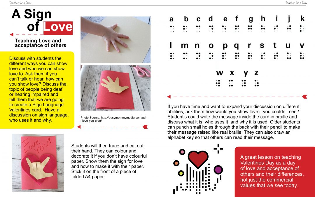Valentine's Activity with Meaning.